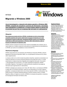 Migrando a Windows 2000