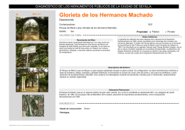 Glorieta de los Hermanos Machado