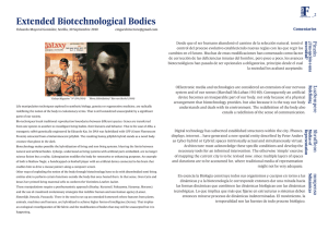 Extended Biotechnological Bodies