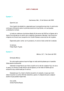 CARTA FAMILIAR Ejemplo 1 - Over-blog