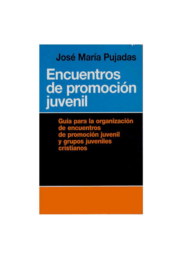 Manual de Encuentros de Promoción Juvenil