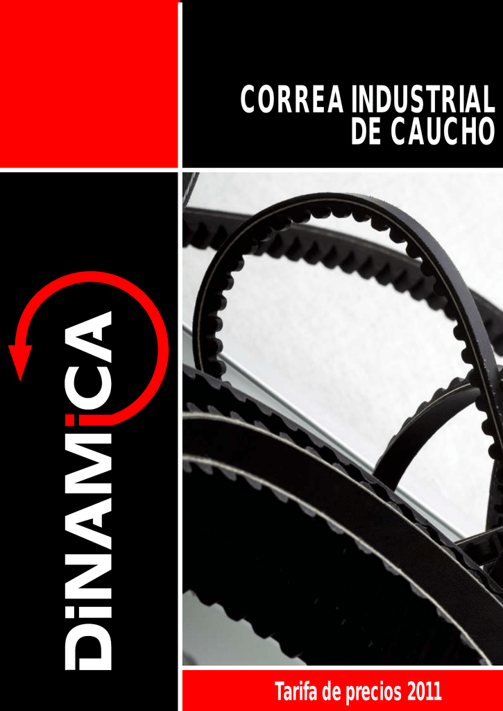 Correa trapezoidal de transmisi/ón A-39 Correa de transmisi/ón de caucho de potencia industrial de 39 pulgadas