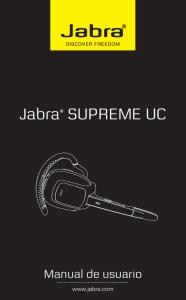 Cord/ón para supervisor de desconexi/ón r/ápida Jabra