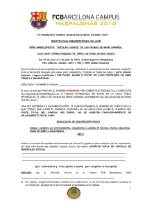 boletin para prescripciones on-line