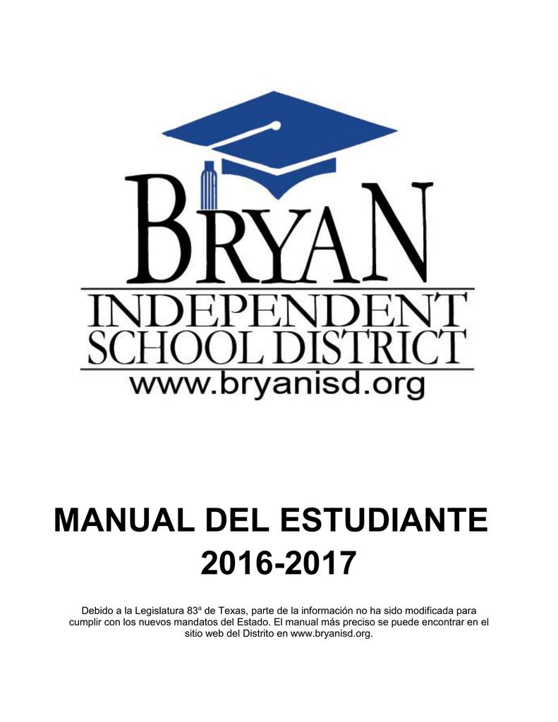manual del estudiante 2016-2017