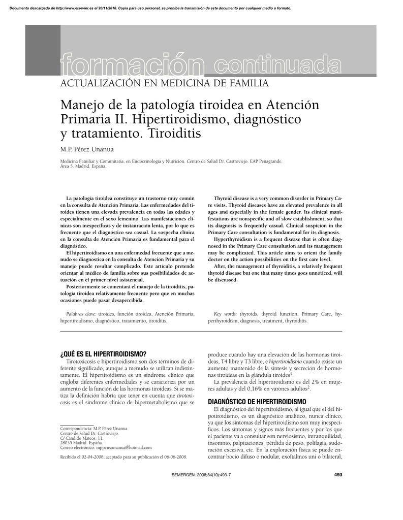 hipertiroidismo y nutricion pdf