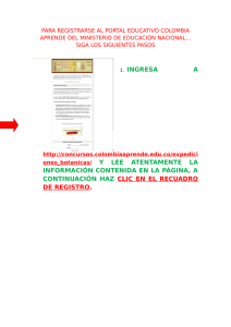 1. INGRESA A ones_botanicas/ Y LEE ATENTAMENTE LA