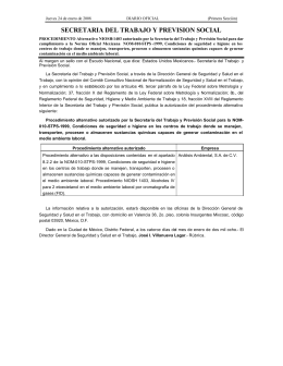 Procedimiento Alternativo NIOSH 1403, alcoholes IV para 2