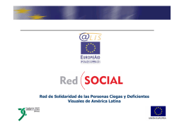 Red de Solidaridad de las Personas Ciegas y Deficientes Visuales