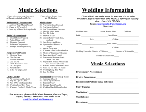 Music Selections - St. Mary Cathedral