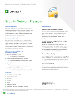 Scan to Network Premium