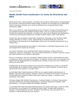 Shelly Smith-Fano nombrada a la Junta de Directores