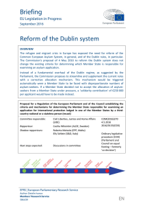 Reform of the Dublin system - European Parliament