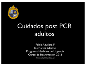 Cuidados Post PCR