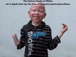 The Darkest Shade of White: An in depth look into the lives of