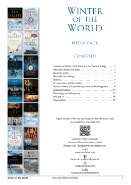 Winter World - Ken Follett