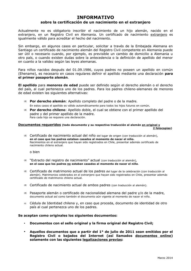 Encantador Cómo Descargar Certificado De Nacimiento Bandera ...
