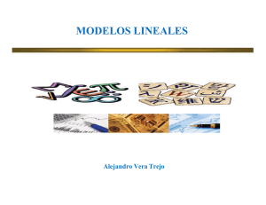 modelos lineales - UniversidadFinanciera.mx