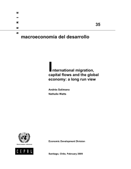 International migration, capital flows and the global economy: a long