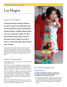 Los Elogios - Parenting Counts