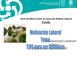 Curso de Tips Para Ser Optimista