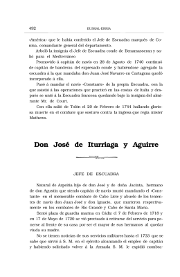 Don José de Iturriaga y Aguirre