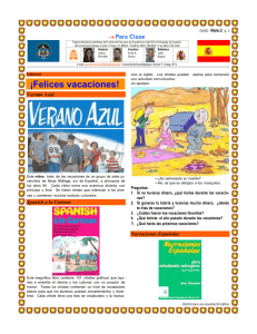 ¡Felices vacaciones! - Spanish Resource Center