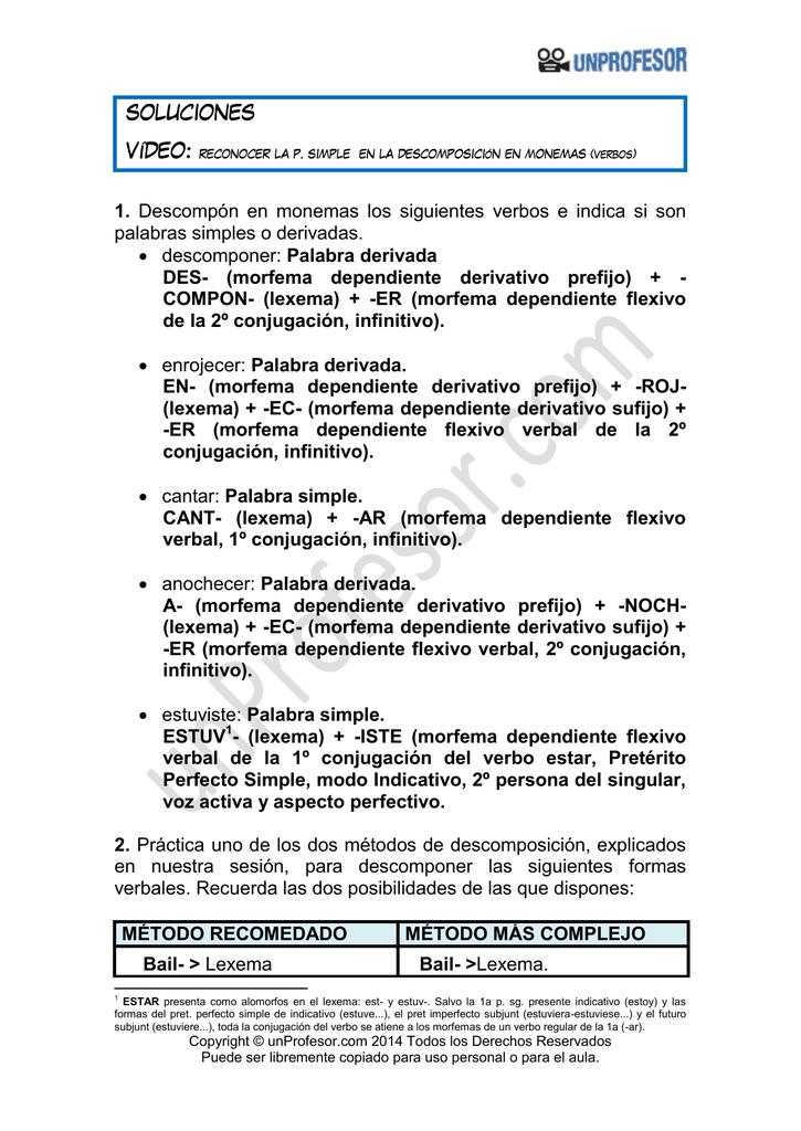 Soluciones - Unprofesor.com
