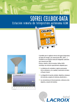 sofrel cellbox-data
