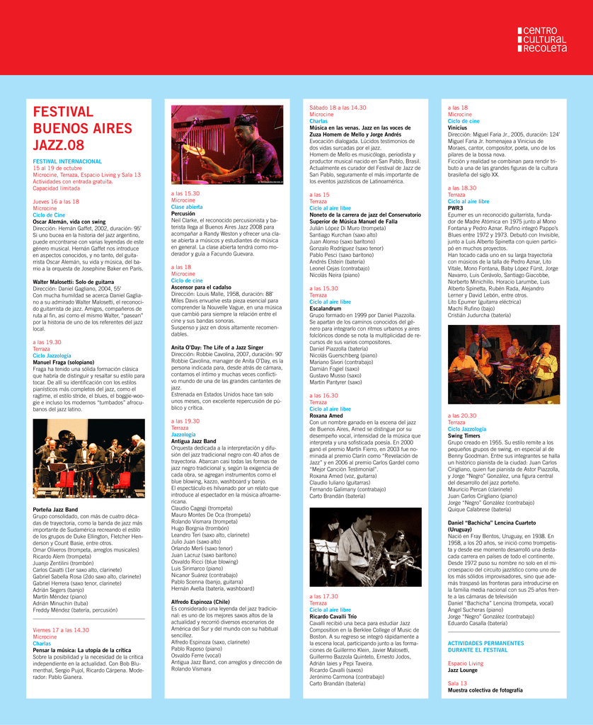 Festival Buenos Aires Jazz 08