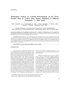 Biochemical Analysis by Calcium Determination on the