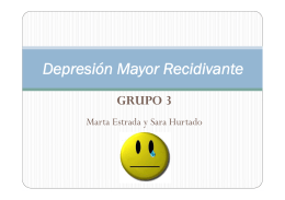 Depresión Mayor Recidivante