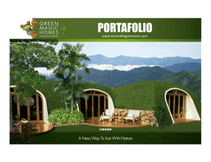 portafolio - Green Magic Homes