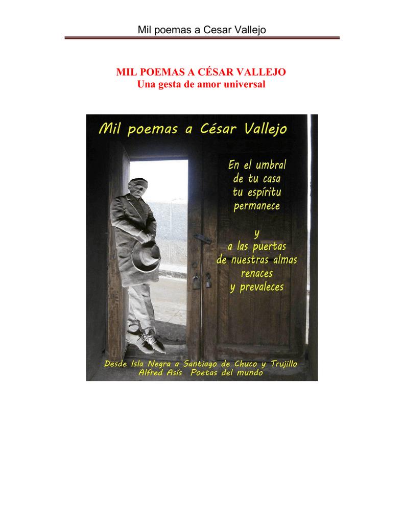 Mil Poemas A Cesar Vallejo
