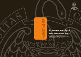 La Revolución Digital - Universidad Complutense de Madrid