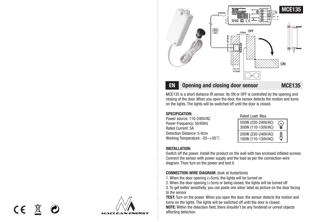 Mce135 Manual Cdr