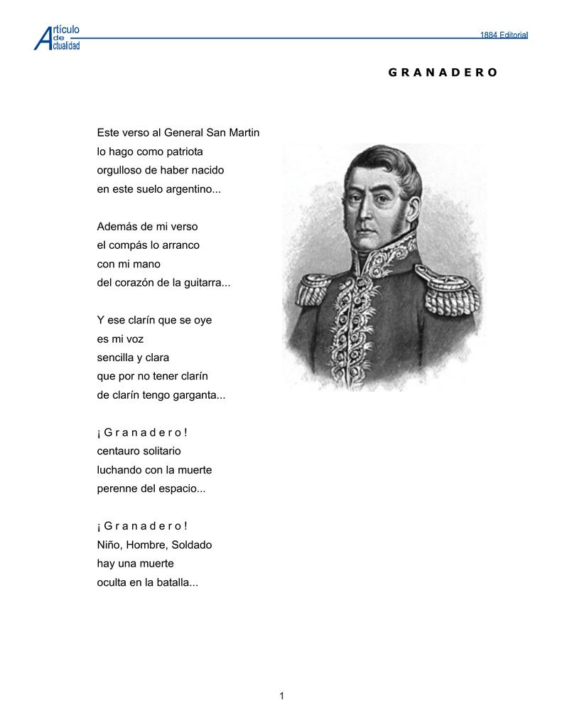 Aa Poema De San Martin Mer 07 Ago 08pmd
