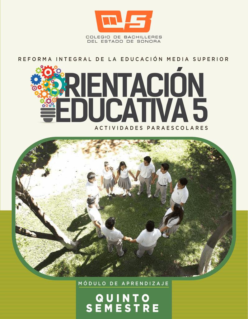 Quinto Semestre Colegio De Bachilleres Del Estado De Sonora