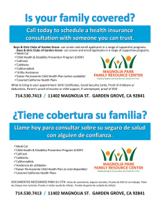 Call today to schedule a health insurance consultation with