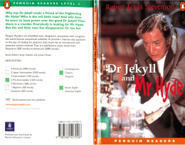 level 3 – Dr Jekyll and Mr Hyde