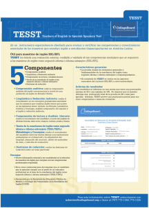 Teachers of English to Spanish Speakers Test