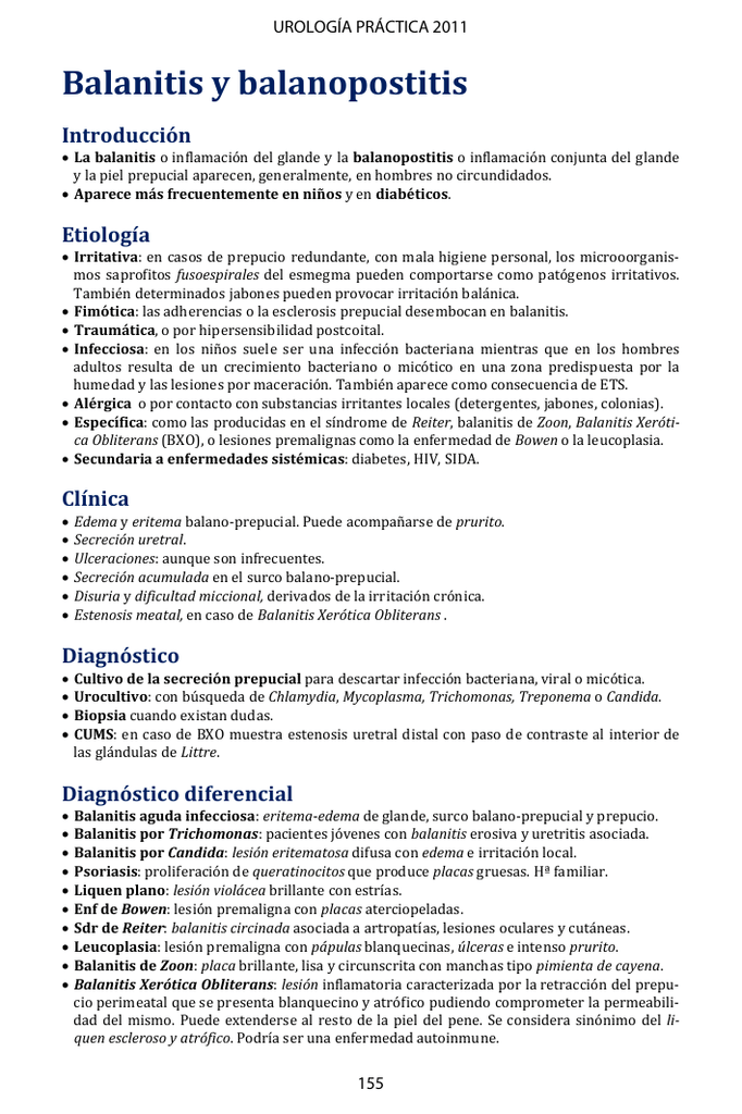 tratamiento para balanitis candidiasica