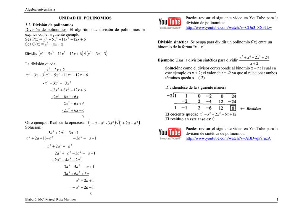 Excepcional La Hoja De Trabajo Teorema Del Residuo Ornamento - hojas ...