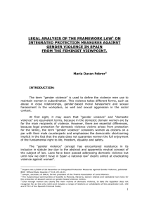 legal analysis of the framework law1 on integrated protection