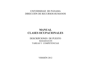 MANUAL CLASES OCUPACIONALES