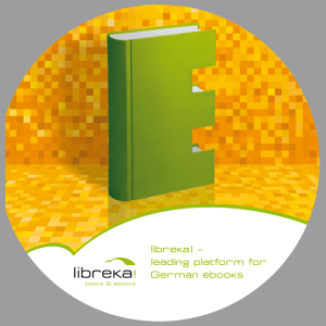 libreka! – leading platform for German ebooks