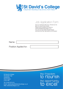 Application Form SDC