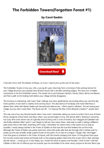 The Forbidden Towers(Forgotten Forest #1)