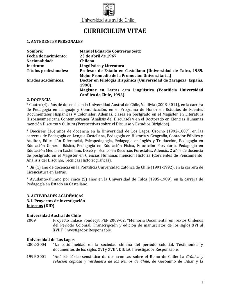 curriculum vitae - Academia Brasileira de Filologia