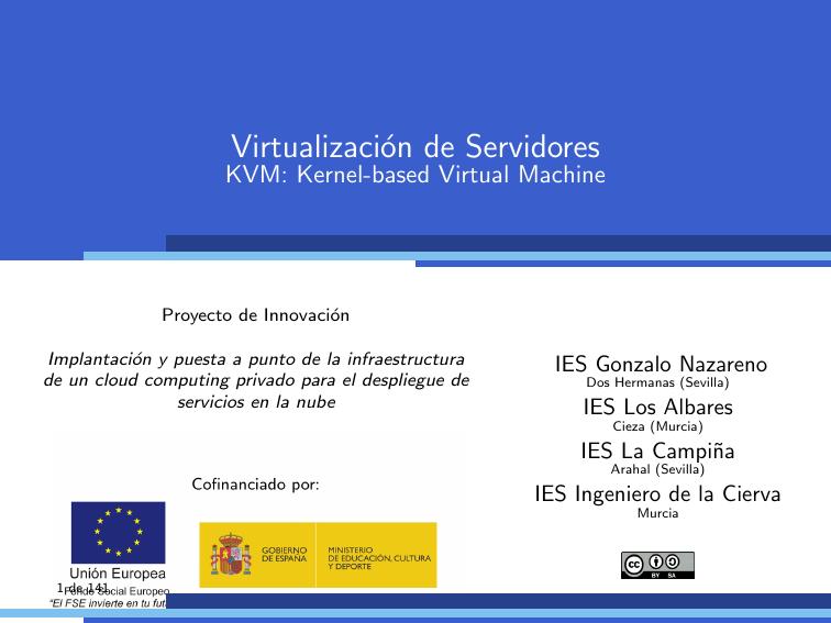 KVM: Kernel-based Virtual Machine